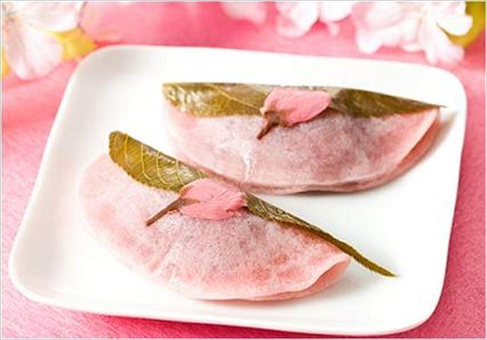 どちらがお好み?長命寺桜もちと道明寺桜もち18種類が大丸東京店に登場
