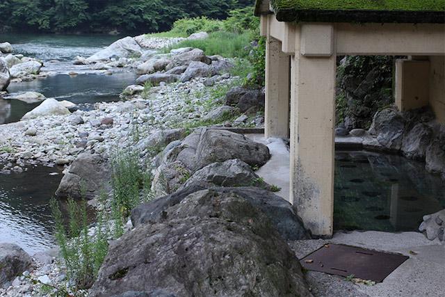 川治エリアの日帰り温泉で絶景を楽しむ