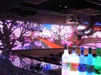 花粉や天気を気にせずお花見!桜のプロジェクションマッピングが楽しめる六本木のレストランバー