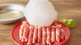 羊?わたあめを溶かしてラムを食べる「美容しゃぶしゃぶ」横浜上陸!
