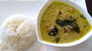 タイの王族の味を再現!簡単グリーンカレーレシピ