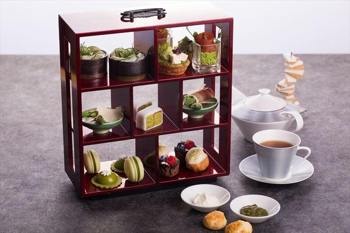 お茶を使ったスイーツが勢ぞろい!コンラッド大阪の抹茶アフタヌーンティー