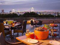 東京のランドマークを臨める絶景バーベキューテラスで手ぶらBBQを楽しもう