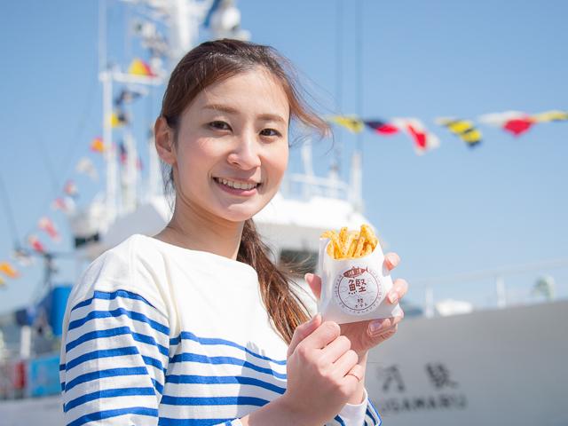 【新グルメ】おいしいカツオパワーで美容も縁起もOK!焼津の勝サンドと勝ポテト