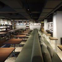 本のまち神保町に書店・喫茶店・コワーキングスペースを備えた「神保町ブックセンター with Iwaami Books」がオープン