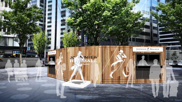人も文化もブレンドされるコンセプトバーで、自分好みの特別なハイボールを 【JOHNNIE & HIGHBALL Hibiya Garden】