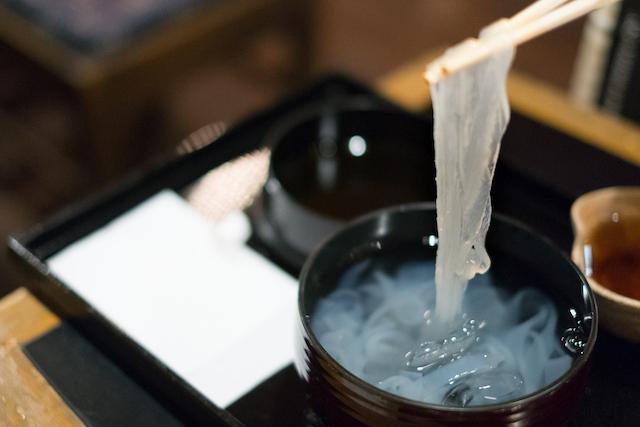 【熱海特集】原料厳選、こだわりの葛きり。疲れを癒す甘味処「中村屋」