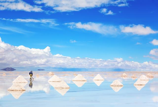 サラサラで使いやすい、ウユニ塩湖の天然塩