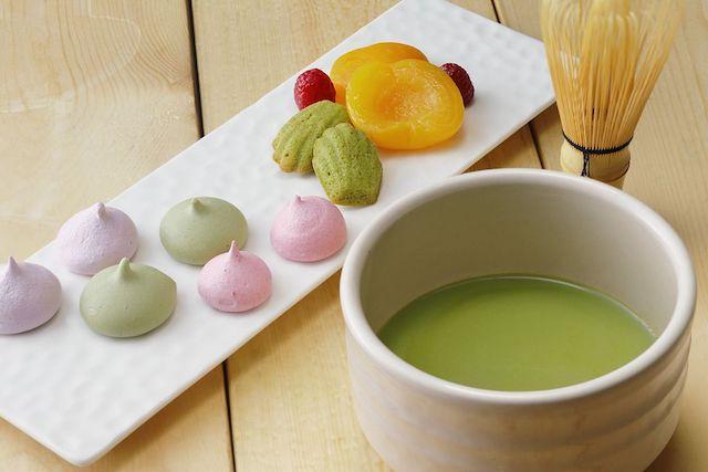 いつまでも眺めていたくなる、京都タワーホテルの抹茶スイーツビュッフェ