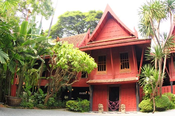【タイ】想像以上のおもしろさ!タイのシルク王「ジム・トンプソン」の家
