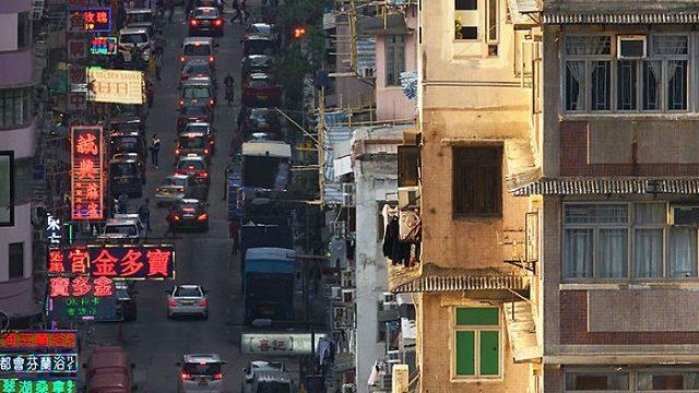 あなたの知らない、香港住民の高層ビル屋上での日常生活