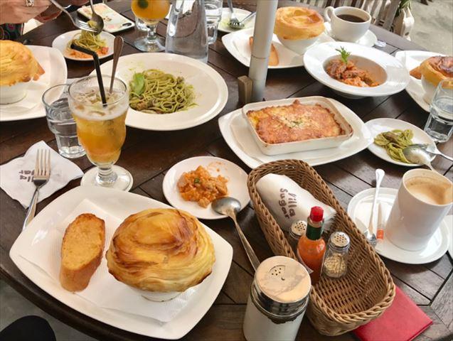 台湾なのにモルディブ?オーシャンビューのカフェでアワビのスープ