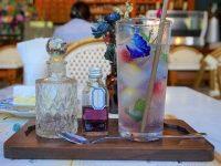 花びらのソーダは女子の夢、バンコクのフォトジェニックカフェ「フェザーストーン」