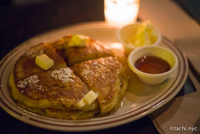 大人だけのお楽しみ「真夜中のパンケーキ」【ニューヨーク ローワーイーストサイド】