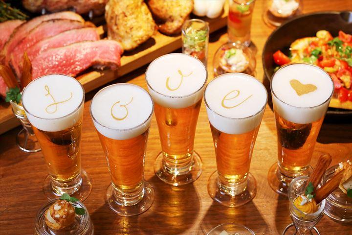 【京都】暑い夏に涼しくフォトジェニックな空間でビアパーティ!ディナービュッフェ&フリーフロー