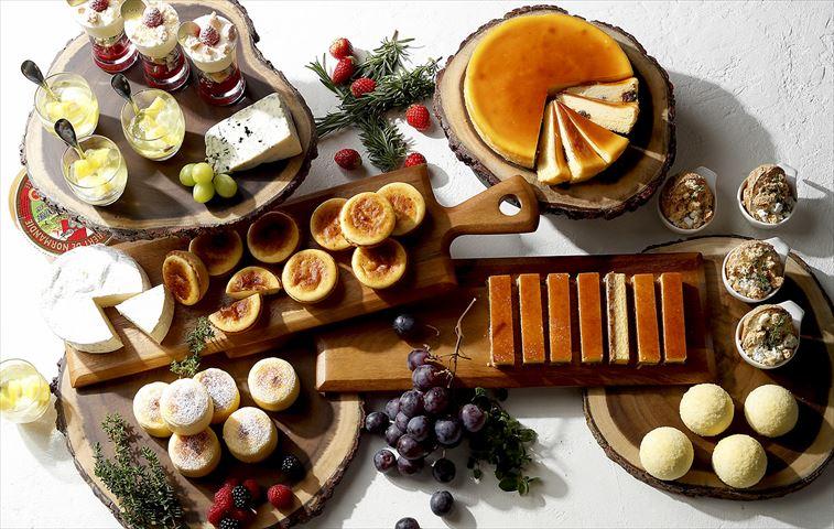 チーズ好きにはたまらない!まさにチーズづくしの「チーズデザートブッフェ」