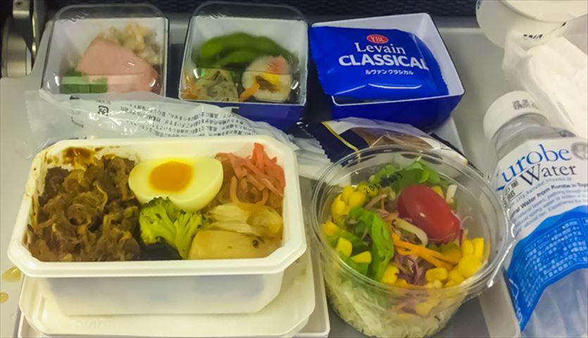 【機内食ルポ】ANAエコノミー 羽田→ニューヨーク 和食の人気ナンバーワンメニューが登場