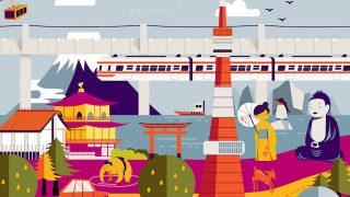【訪日外国人観光客ランキング】旅行者数の伸び率が最も高い国は?
