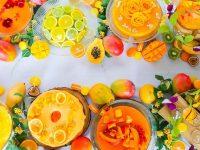 まるで夏のお花畑!南国フルーツたっぷりの「トロピカルドルチェブッフェ」 【大阪/名古屋】