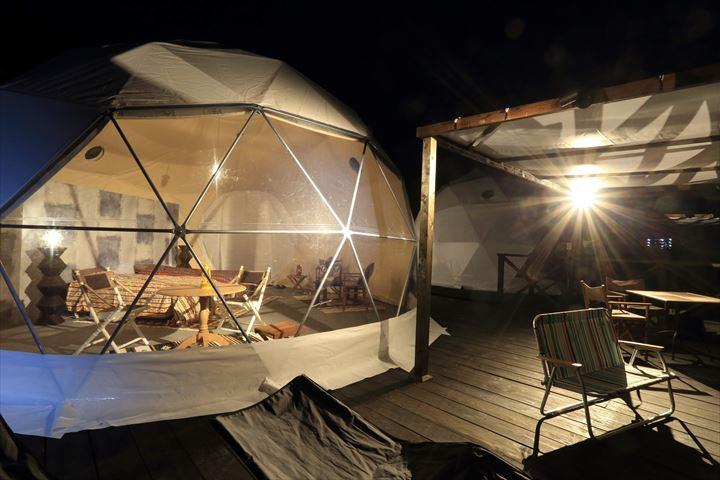 ヴィラとグランピングテントどちらが良い?自然に囲まれた京都丹後で非日常体験を