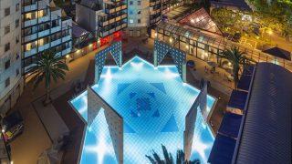 【福岡】解放感溢れるガーデンプール開き!今年はナイトプールもオープン