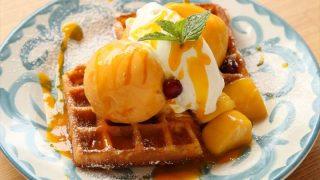 旬のフルーツを使った夏のスイーツメニュー【GOOD MORNING CAFE】