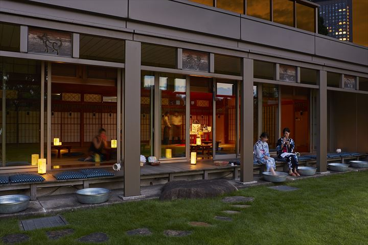 東京タワーと竹あかりのコラボが楽しめる、東京ならではの夕涼みカフェが登場