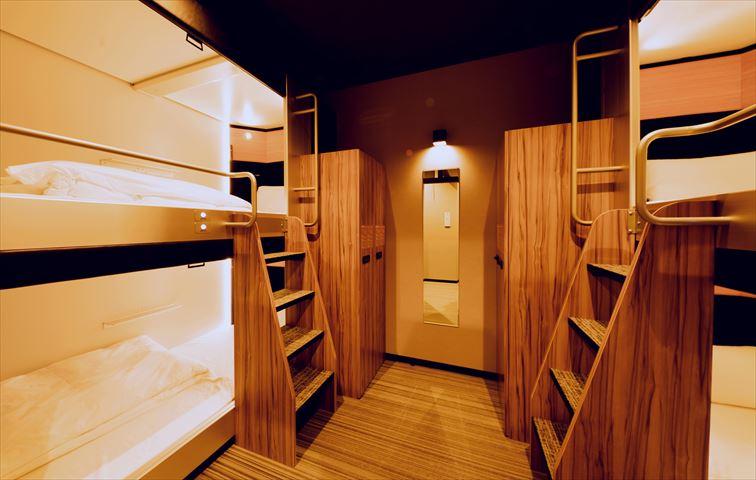 ドーミーインが進化したカプセルホテル「global cabin」を横浜中華街にオープン