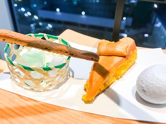 京都「然花抄院」の生カステラが食べられる和アフタヌーンティーセット
