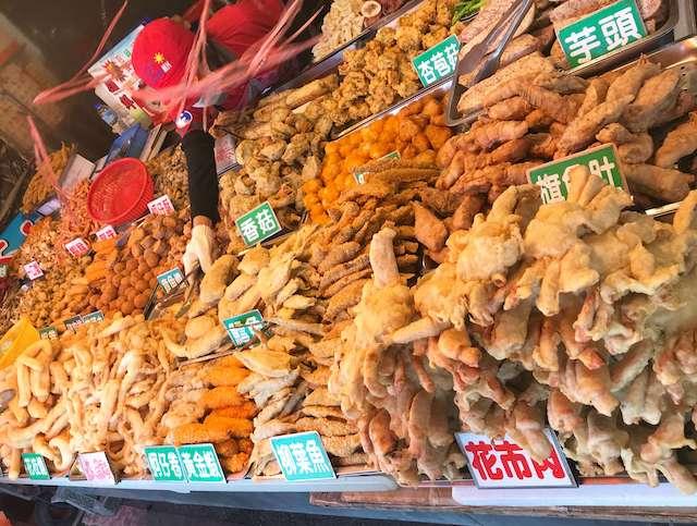[台湾]シーフードグルメ 竹圍漁港の熱炒