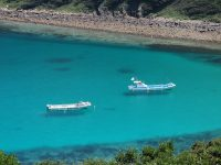 【四国最南端の離島 高知県柏島】「船が宙に浮いて見える」クリアブルーの海を見たい