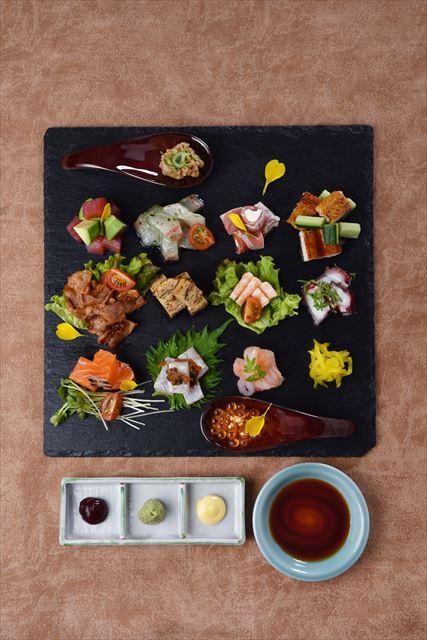 【京都】彩り鮮やかな具材を好きなように巻いて楽しむ手巻き寿司