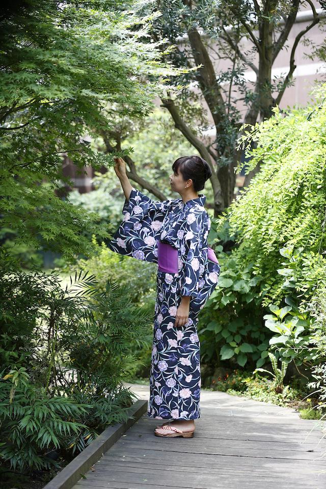 浴衣で楽しむ、シャンパーニュフリーフロー【ウェスティンホテル東京】