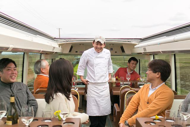 土地の美味を乗せて走る「レストランバス」|たったひとつを叶える旅<13>