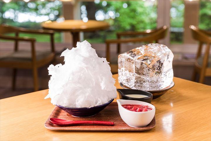 【日光】雪のような口どけ。三ツ星氷室の天然氷を使った かき氷