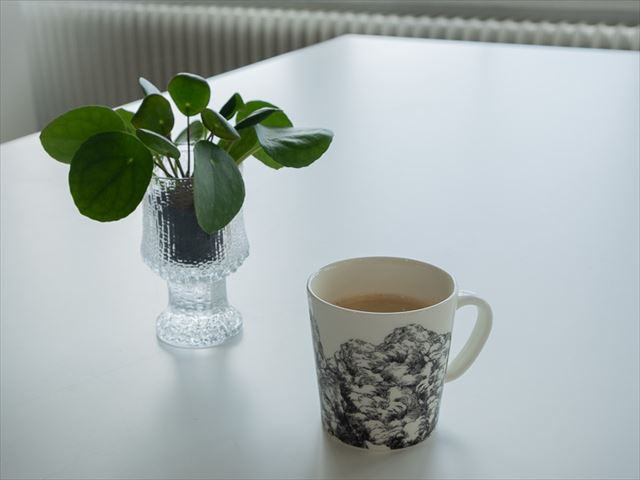 更にお得!イッタラ&アラビアデザインセンターでショップの15%オフ券ゲット。コーヒーもごちそうさまです。