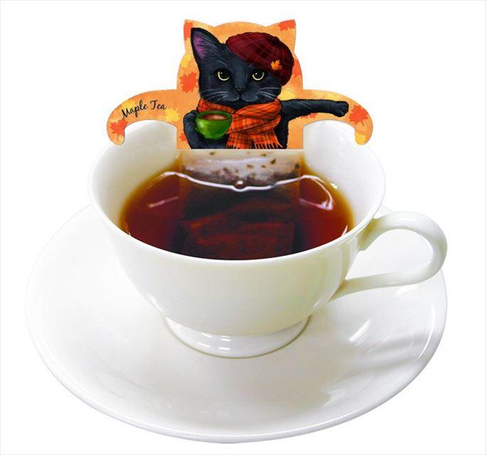 ネコ好きにはたまらない!可愛いネコ型ティーバッグ「キャットカフェ」販売中