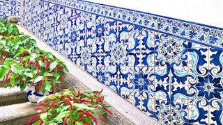 マカオ旅行記・女ひとり編【2】青の芸術!アズレージョの世界にどっぷり