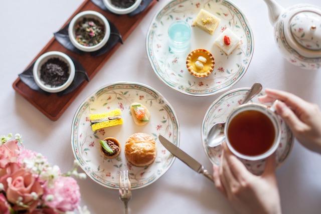 食べて美しさを磨く「チャイニーズアフタヌーンティー」【ホテル椿山荘東京】
