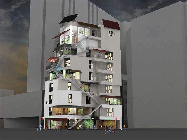 仮眠とシャワーのみの利用もOK!カプセルホテル「ナインアワーズ浅草」が9月21日にオープン
