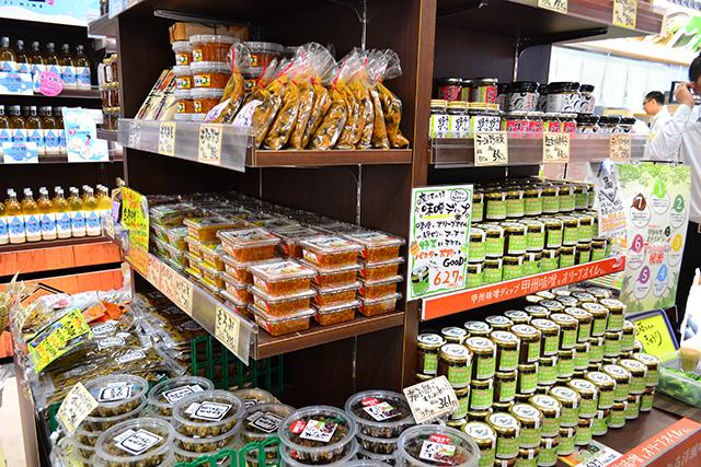南部茶をメインとした山梨のグルメスポット、道の駅「なんぶ」がオープン!