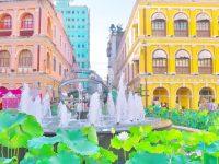 マカオ旅行記・女ひとり編【1】色彩美にうっとり!街色セラピーのすすめ