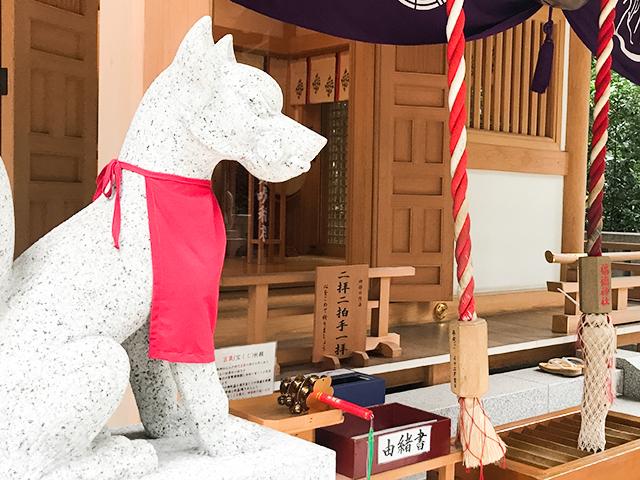 出発前に…東京・日本橋「福徳神社」で旅行安全祈願!