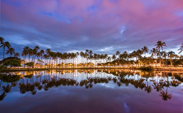 ハワイでタダで感動的な夕日を楽しもう! オアフ島のサンセットスポット5選