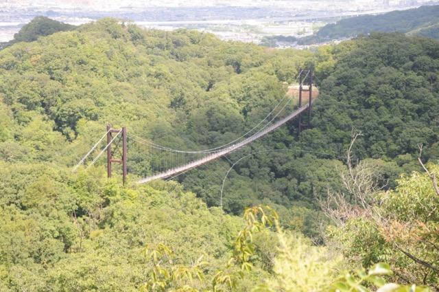 日本最大級の吊り橋。ハラハラしながらも絶景が楽しめる「星のブランコ」