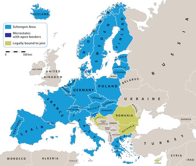 ヨーロッパ旅行で知っておきたい「シェンゲン協定」ってなに?~EUとの ...