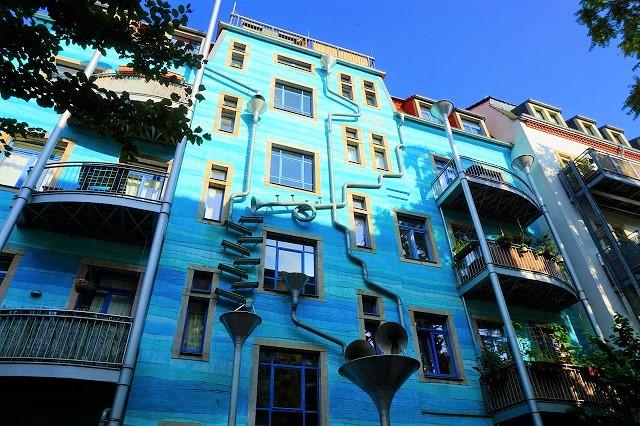ドレスデンの別世界、新市街のアート村「クンストホーフ・パッサージュ」が楽しい