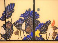 【フォトジェニックな京都】Ki-Yanのロックな襖絵が幻想的な青蓮院門跡