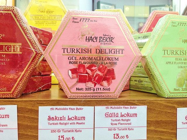 トルコの名物土産ロクム 老舗「ハジュ・ベキル」4