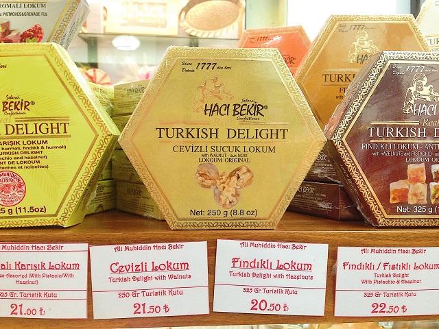 トルコの名物土産ロクム 老舗「ハジュ・ベキル」5